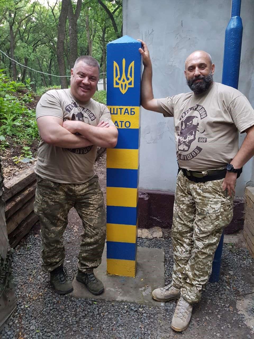 Sergueï Krivonos (à droite)